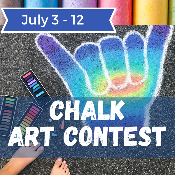 2020 Summer Chalk Art Contest - Square